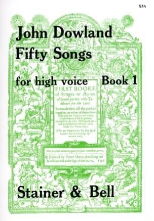 50 Songs Voix Haute Volume 1 - DOWLAND - Partition - laflutedepan.com
