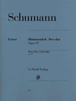 Blumenstücke en Ré bémol majeur Opus 19 SCHUMANN laflutedepan