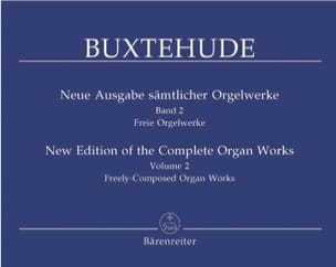 L'œuvre d'orgue, Volume 2 BUXTEHUDE Partition Orgue - laflutedepan
