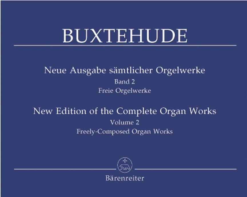 L'œuvre d'orgue, Volume 2 - BUXTEHUDE - Partition - laflutedepan.com