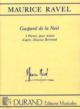 Gaspard de la Nuit RAVEL Partition Piano - laflutedepan