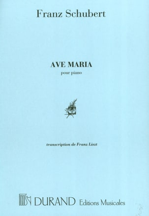 Ave Maria. Piano SCHUBERT Partition Piano - laflutedepan