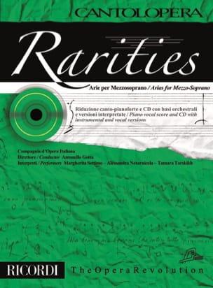 Rarities. Arie per mezzo-soprano Partition Recueils - laflutedepan