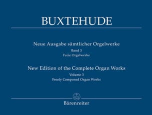 L'œuvre d'orgue, Volume 3 BUXTEHUDE Partition Orgue - laflutedepan