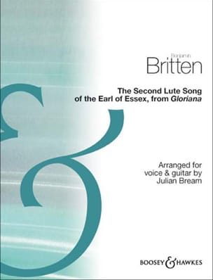 The Second Lute Song of The Earl of Essex BRITTEN laflutedepan