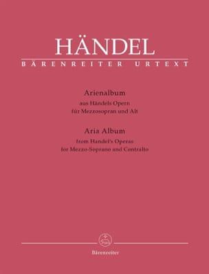 Arienalbum. Mezzo Soprano et Contralto HAENDEL Partition laflutedepan