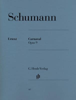 Carnaval Opus 9 SCHUMANN Partition Piano - laflutedepan