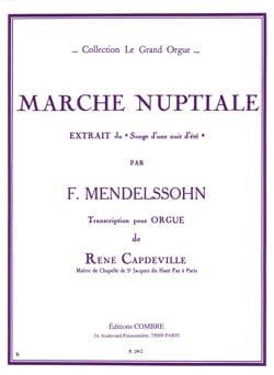 Marche Nuptiale MENDELSSOHN Partition Orgue - laflutedepan
