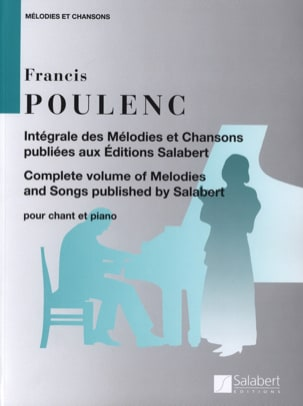 Francis Poulenc - Complete Melodies and Songs - Partition - di-arezzo.com