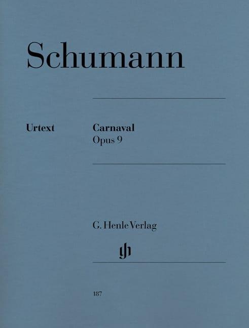Carnaval Opus 9 - SCHUMANN - Partition - Piano - laflutedepan.com
