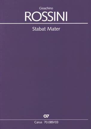 Stabat Mater ROSSINI Partition Chœur - laflutedepan