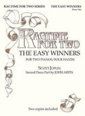 The Easy Winners. 2 Pianos JOPLIN Partition Piano - laflutedepan