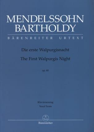 Die Erste Walpurgisnacht Opus 60 - MENDELSSOHN - laflutedepan.com