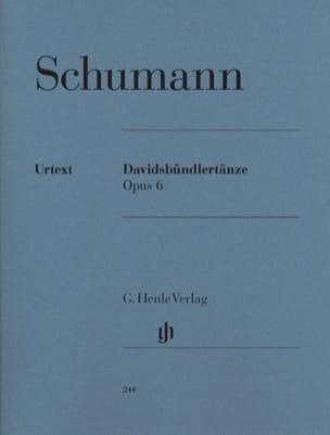 Davidsbündlertänze Opus 6 SCHUMANN Partition Piano - laflutedepan