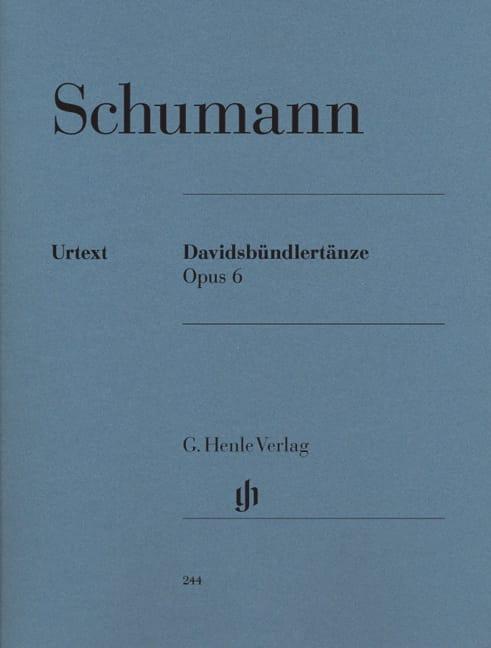 Davidsbündlertänze Opus 6 - SCHUMANN - Partition - laflutedepan.com