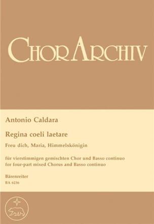 Regina Coeli Laetare CALDARA Partition Chœur - laflutedepan