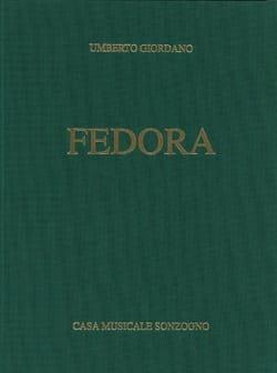 Fedora Umberto Giordano Partition Opéras - laflutedepan