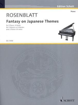 Fantasy on Japanese themes. 2 pianos 8 mains laflutedepan