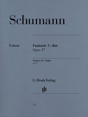 Fantaisie Do Majeur Opus 17 SCHUMANN Partition Piano - laflutedepan