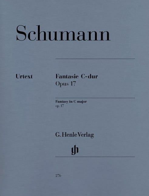 Fantaisie Do Majeur Opus 17 - SCHUMANN - Partition - laflutedepan.com