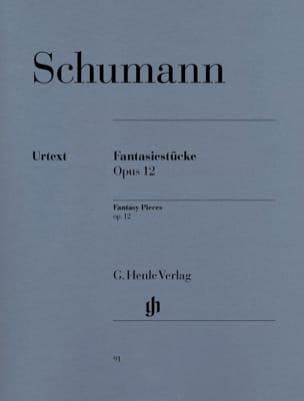 Fantasiestücke Opus 12 SCHUMANN Partition Piano - laflutedepan