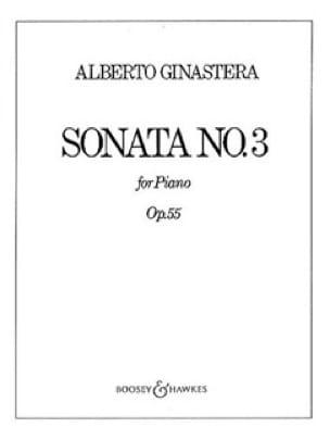 Sonate Pour Piano N° 3 Opus 55 - GINASTERA - laflutedepan.com