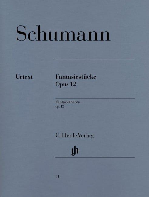 Fantasiestücke Opus 12 - SCHUMANN - Partition - laflutedepan.com