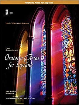 Sopranos Oratorios Arias Partition Recueils - laflutedepan