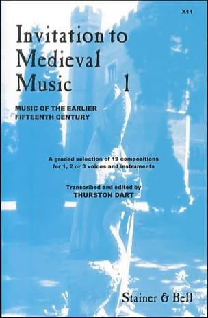 Invitation To Medieval Music Volume 1 - laflutedepan.com