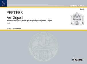 Ars Organi Bd 1 Orgel Schule. Flor Peeters Partition laflutedepan