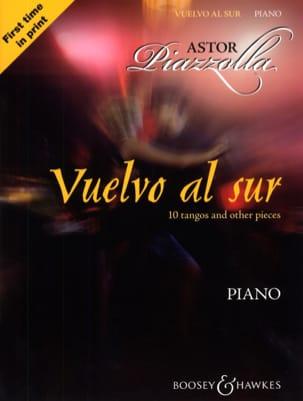 Vuelvo Al Sur Astor Piazzolla Partition Piano - laflutedepan