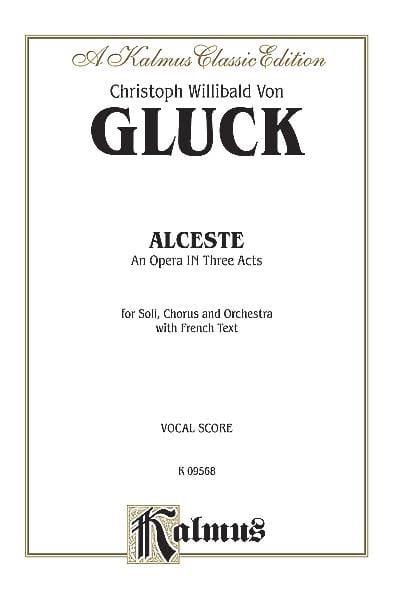 Alceste - GLUCK - Partition - Opéras - laflutedepan.com