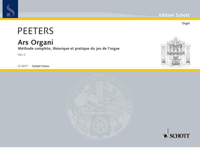Ars Organi Bd 2 Orgel Schule. - Flor Peeters - laflutedepan.com