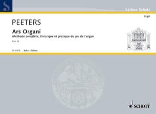 Ars Organi Bd 3 Orgel Schule Flor Peeters Partition laflutedepan