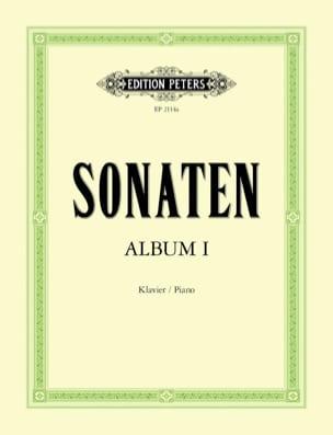 Sonaten Album Volume 1 Partition Piano - laflutedepan