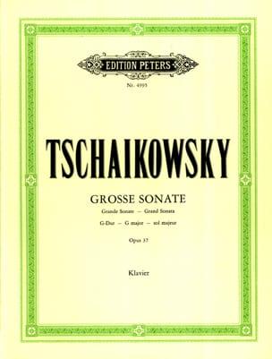 Grande Sonate Sol Majeur Opus 37 TCHAIKOVSKY Partition laflutedepan