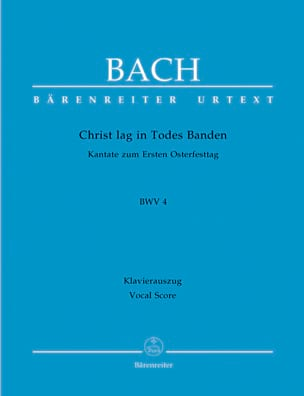 Cantate 4. Christ Lag In Todes Banden BACH Partition laflutedepan