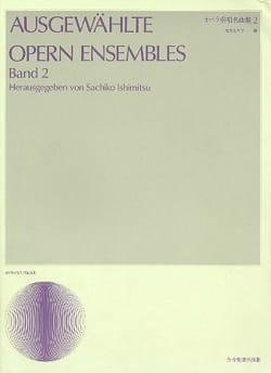 Ausgewählte Opern Ensembles Volume 2 MOZART Partition laflutedepan