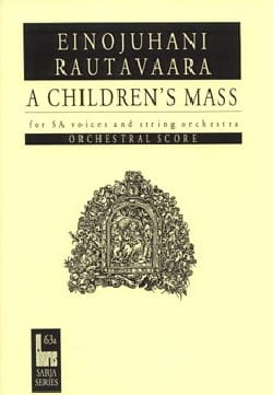 A Children's Mass Ou Lapsimessu Op. 71. Conducteur laflutedepan