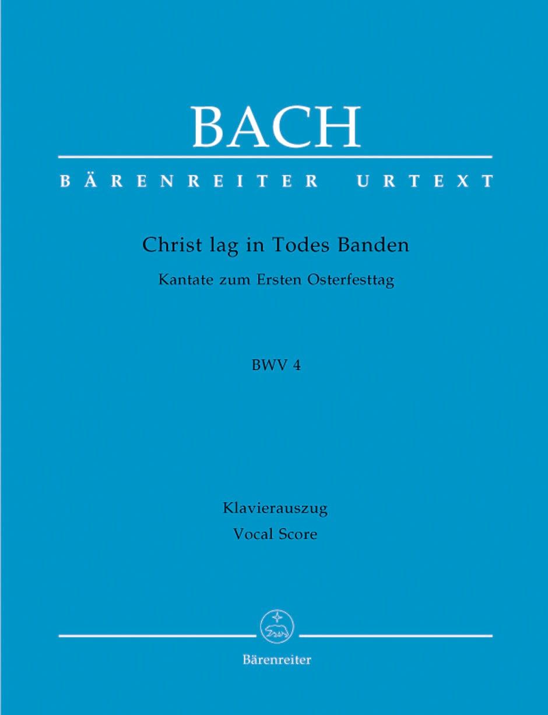 Cantate 4. Christ Lag In Todes Banden - BACH - laflutedepan.com