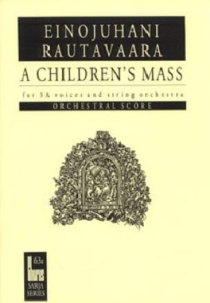 A Children's Mass Ou Lapsimessu Op. 71. Conducteur - laflutedepan.com