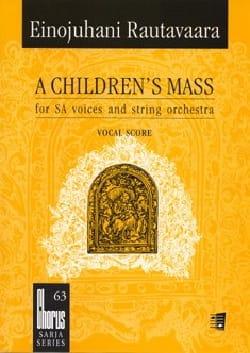 A Children's Mass Ou Lapsimessu Opus 71. Choeur seul laflutedepan