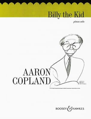 Billy The Kid (Extraits) COPLAND Partition Piano - laflutedepan