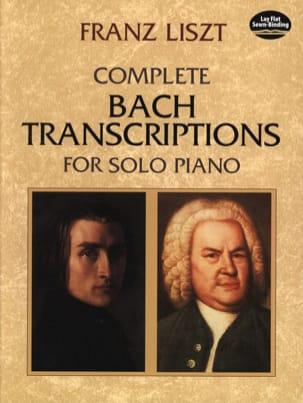 Complete Bach Transcription For Solo Piano - LISZT - laflutedepan.com