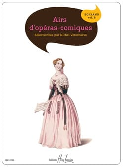Airs D'opéras Comiques. Soprano. Volume B Partition laflutedepan
