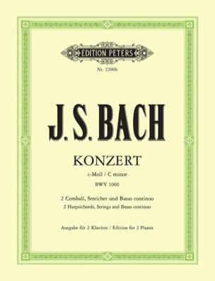 Concerto Pour 2 Claviers En Do Mineur BWV 1060 BACH laflutedepan