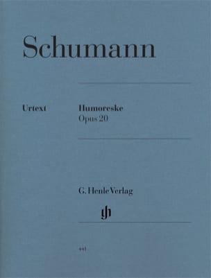 Humoresque Opus 20 SCHUMANN Partition Piano - laflutedepan
