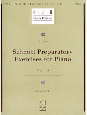 Exercices Préparatoires op.16 Aloys Schmitt Partition laflutedepan