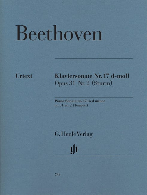 Sonate N° 17 - La Tempête - BEETHOVEN - Partition - laflutedepan.com