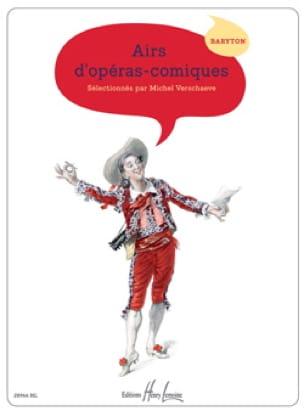 Airs D'opéras Comiques. Baryton - Partition - laflutedepan.com